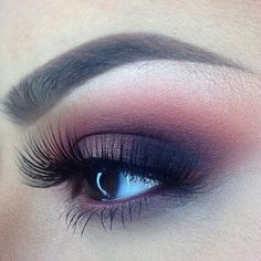 #Pretty #smokey #blend #eye #makeup