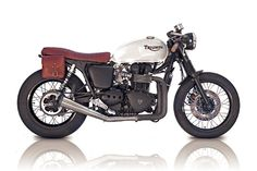 Love the colorway on this Triumph Bonneville: it's exactly what I'm doing for my RYCA CS-1!