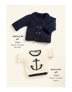 Une veste pour enfant de 0 à 4 ans légère et résistante idéal pour la saison Un modèle à l'esprit nature tricoté avec notre qualité 100% biologique «Terra». Une veste tout confort et facile à porter.