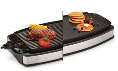 "Wolfgang Puck Indoor Electric Reversible Grill & Griddle. If you share Puck's passion for good food and great cookware, this collection is for you. - ""Use it for everything, from breakfast to grilled chicken, steaks, pork chops, etc."""