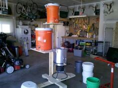 Brew Tower for homebrewing. I have to show my husband this!