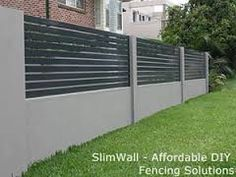 Hebel Power Fence panels