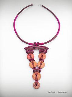 Statement Necklace Pendant Handmade Jewelry by ThousandKnots