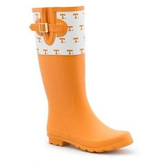 Another great find on Tennessee Volunteers Rain Boot by Spirit Co. Tennessee Volunteers Football, Tennessee Football, Notre Dame Football, University Of Tennessee, Ohio State University, Tennessee Titans, Alabama Football, American Football, College Football