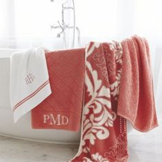 Resort Quilted Bath Towels