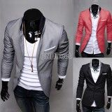 Hot Men's Casual Dress Slim Fit Stylish Suit Blazer Coats Jackets 3color 4sizes, http://www.shopcost.co.uk/