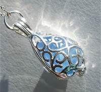 Gorgeous sea glass pendant