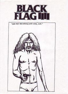 Pretty Much Every Single Black Flag Flyer Designed by Raymond Pettibon | NOISEY
