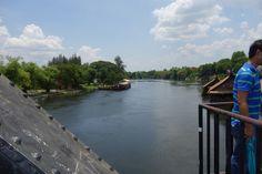 Bridge over the river kwai, kanchanaburi, thailand.