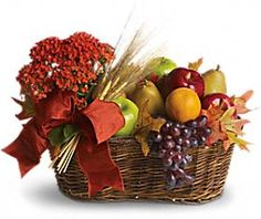 Fruit basket: Perfect Gift For The Kids Doctor.