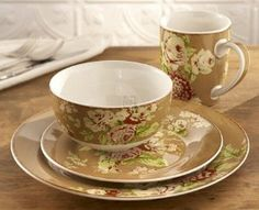Waverly Tea Dance Cafe dishes