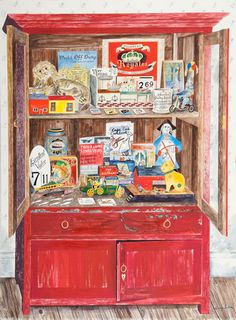 The Red Cupboard - Emily Sutton