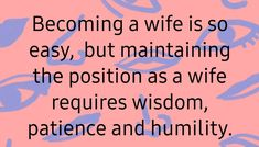 Marriage Tips, Humility, Patience, How To Become, Calm, Wisdom, Positivity, Optimism