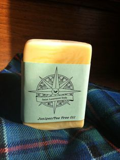 Juniper/Tea Tree Oil Soap by SaintLawrenceSuds on Etsy, $5.00