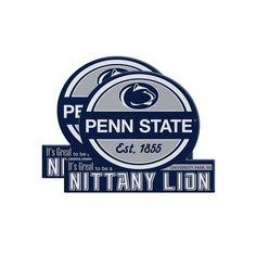 Penn State Nittany Lions Jumbo Tailgate Magnet 2-Pack, Multicolor