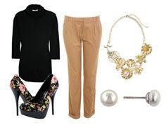 Fashion Challenge: Brighten Up Business Casual on collegefashion.net