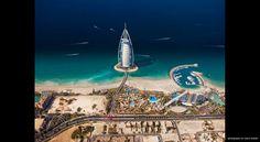 Dubai — Burj Al Arab, Jumeirah Beach ♥ REPIN, LIKE, COMMENT & SHARE! ♥