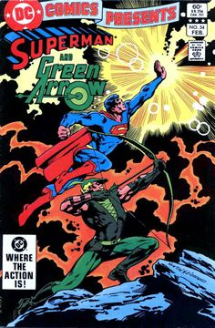 dc comics books | DC Comics Presents #54 - Don Newton art & cover