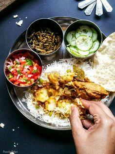 Mauritian Chicken Curry / Cari Poule Masala