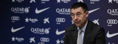 Barça-Madrid: Bartomeu visita el vestuario durante el entrenamiento