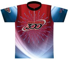 7b1a06fc7 Columbia 300 Red/Blue Dye Sublimated Jersey. A red, white and blue design