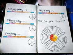 2nd half daily spread of first week of October plus miracle morning weekly tracker.