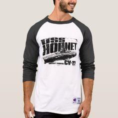 Aircraft carrier Hornet T-Shirt - mens sportswear fitness apparel sports men healthy life