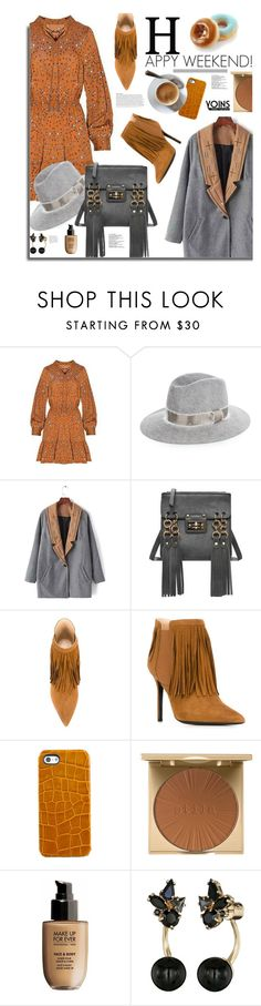 """""""Yoins.com: Happy Weekend!"""" by hamaly ❤ liked on Polyvore featuring rag & bone, Aperlaï, Graphic Image, Stila, MAKE UP FOR EVER, Kate Spade, dresses, bags, coats and yoins"""