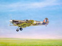 Aviation Art Painting by Terry Jones - Little Spit