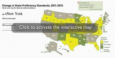Commitments to Common Core may be driving the proficiency bar upward
