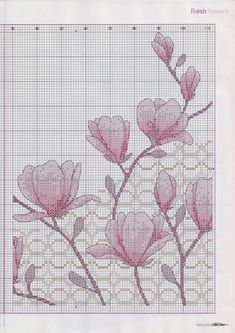 """Photo from album """"Cross Stitch Collection 194 март on Yandex. Hardanger Embroidery, Diy Embroidery, Cross Stitch Embroidery, Cross Stitch Patterns, Dog Chart, Wedding Vase Centerpieces, Cross Stitch Cushion, Cross Stitch Collection, Art Inspiration Drawing"""