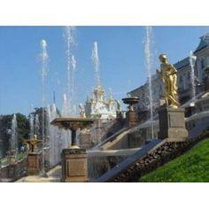 Chateau et jardins de Peterhof Russie