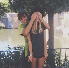 Pinterest ↠ @ouiouimaggie f4f anyone?<<< if i ever get a picture with peter pan i am so doing this