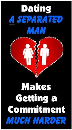 Are you dating a separated man? That's one of the toughest relationship situations. Here's why his unfinished divorce is a huge problem that can keep you single and make it so much harder to get a commitment from him. Dating Women, Best Dating Apps, Dating Advice For Men, Funny Dating Quotes, Flirting Quotes, Dating Humor, Dating A Divorced Man, Dating After Divorce, Christian Dating Site