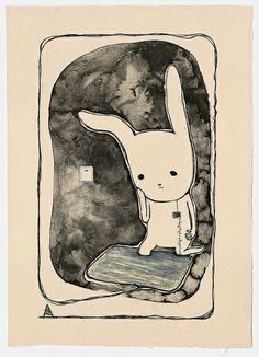 コバヤシ麻衣子 Maiko Kobayashi Growing in sandy place Lithography x 3 / bunko - shi 655 x 460 mm Edition 16