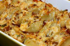 Lasagna Stuffed Shells, easy weeknight meal