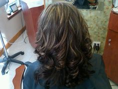 highlights+and+lowlights+for+brunettes | afrkroou Highlights and lowlights for brown hair