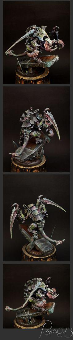 40k - Tyranid Carnifex by Amon Chakai