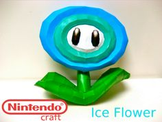 Make Your own 3D Nintendo Characters with Paper