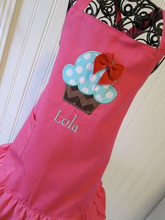 Kids Aprons  Party Favors by EllaLuBoutique on Etsy, $78.00