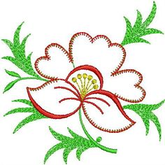 Free Jef Embroidery Design Downloads | Exclusive Floral Design 43