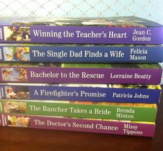 GIVEAWAY! Win a Set of 6 Love Inspired Books! giveaway ends 4/24/15.