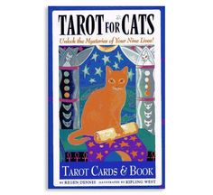 A friend recently gave me a deck of Tarot Cards for Cats as a joke, but it turns out to be one of the most entertaining things I've read in a while! I've never really studied how tarot cards work, but I've always loved them for their intricate illustrations. And when you add cats! Well,…