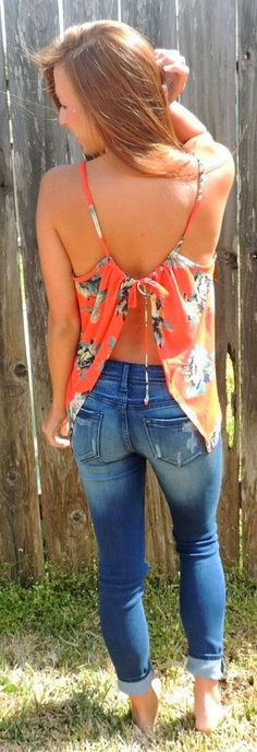 Stylish Top With Jeans For Summer