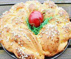 Ein wunderschönes #Osternest wird aus diesem Rezept gebacken. Mit wenig Aufwand ein tolles Ostergeschenk zaubern.