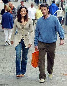 Crown Princess Mary & Crown Prince Frederik of Denmark looking casual.