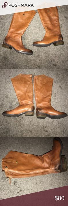 Sam Edelman penny 7 Great never worn boots with a rustic coloring zipper up back my favorite boots just to small for me Sam Edelman Shoes
