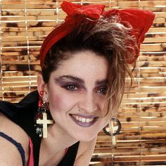 1983 She released her self-titled debut album and brought downtown N.Y.C. club style to the masses. Madonna's Changing Looks - 1983 from #InStyle