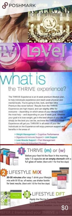 WHAT IS THRIVE? CLICK to find out!!!