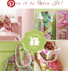 "eb4d475fdc Vera Bradley Baby Pinterest ""Pin it to Win it!"" Contest - http"